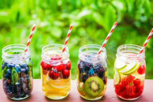 Fruit infused water or Detox Water