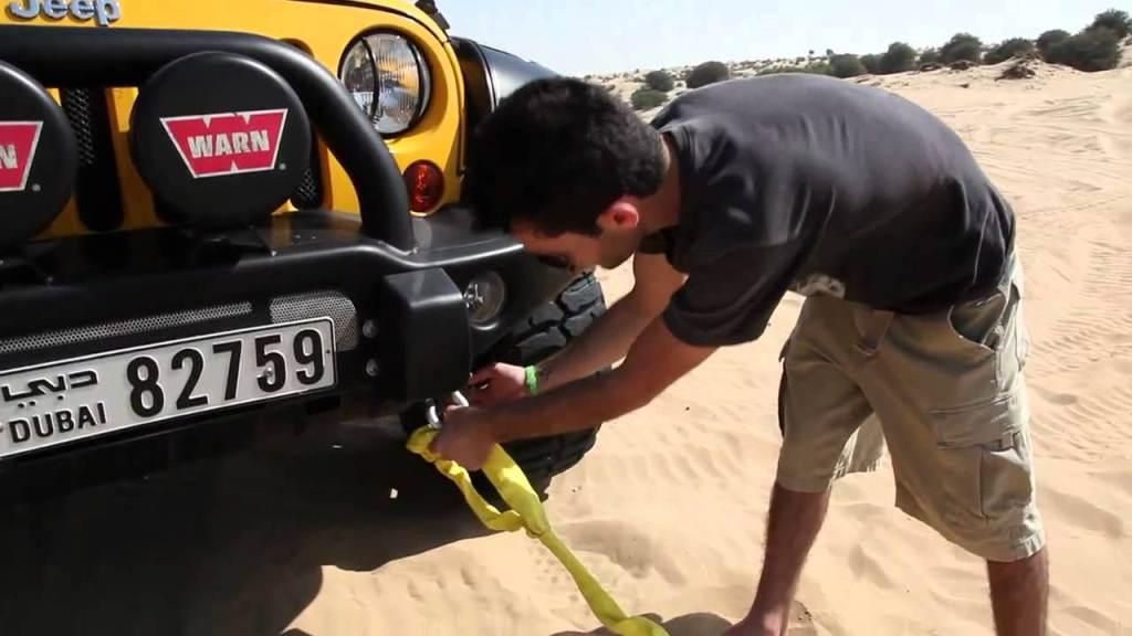 Auto Recovery Straps vs. Tow Straps