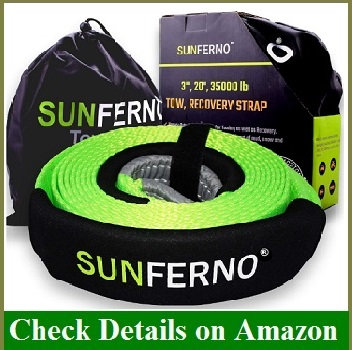 Ultimate Tow Recovery Strap 35000lb