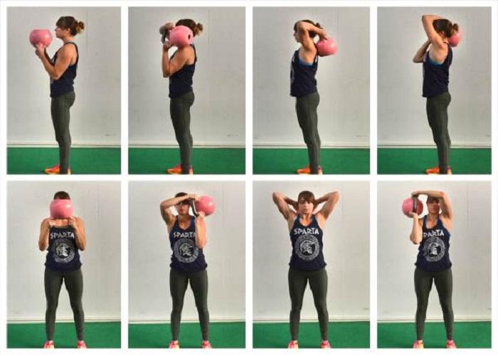Kettlebell Tricep Exercises