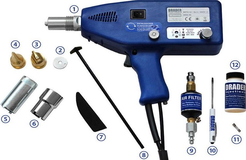 plastic welder kit buying guide