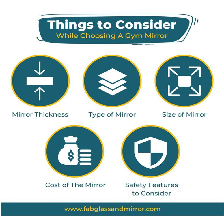 Choosing a Mirror for My Gym (infographics)