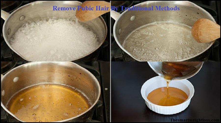 Remove Pubic Hair By Homemade Paste
