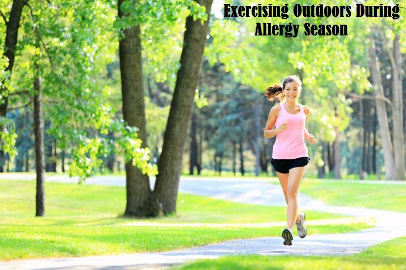 Exercising Outdoors During Allergy Season